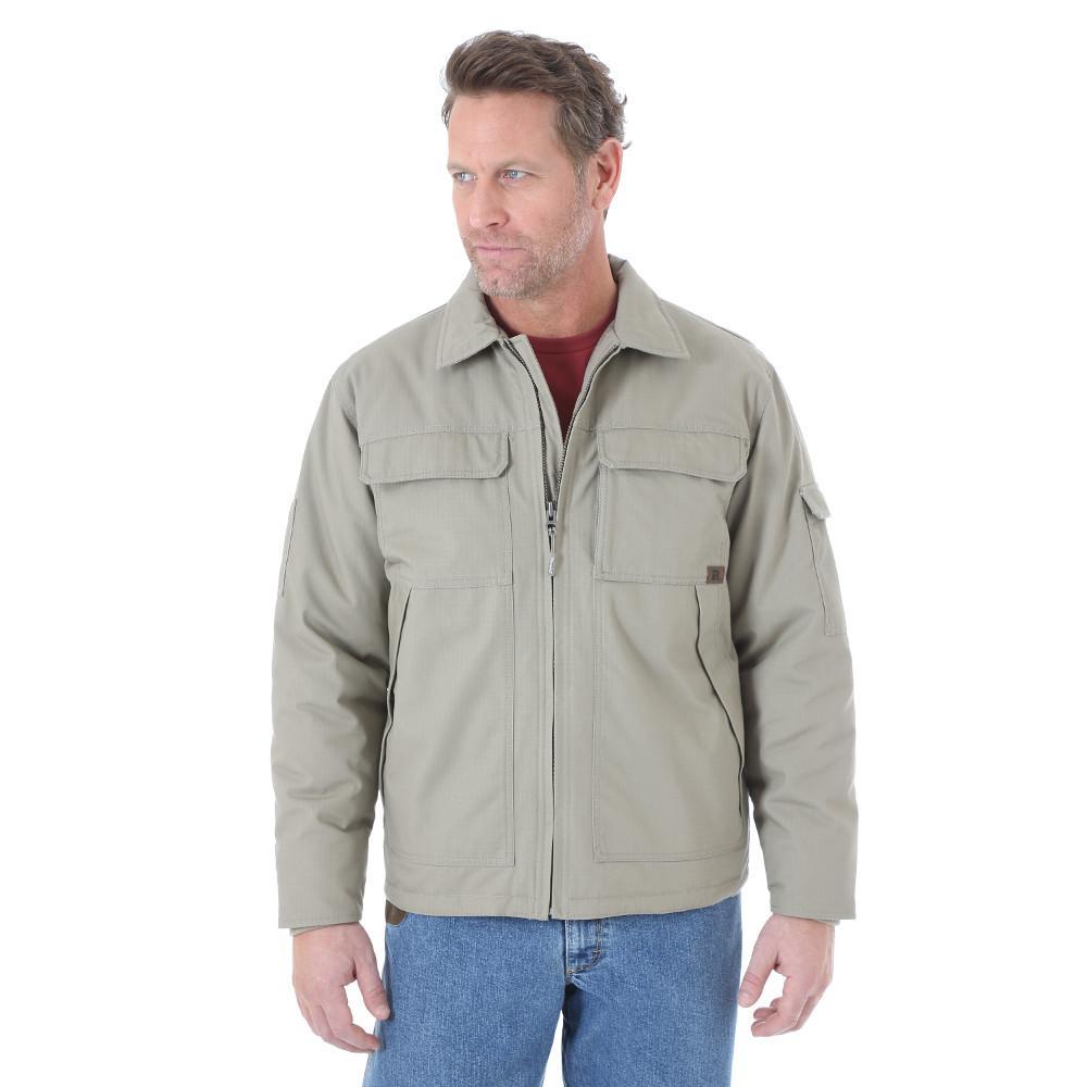 Men's Size 3X-Large Tall Dark Khaki Ranger Jacket