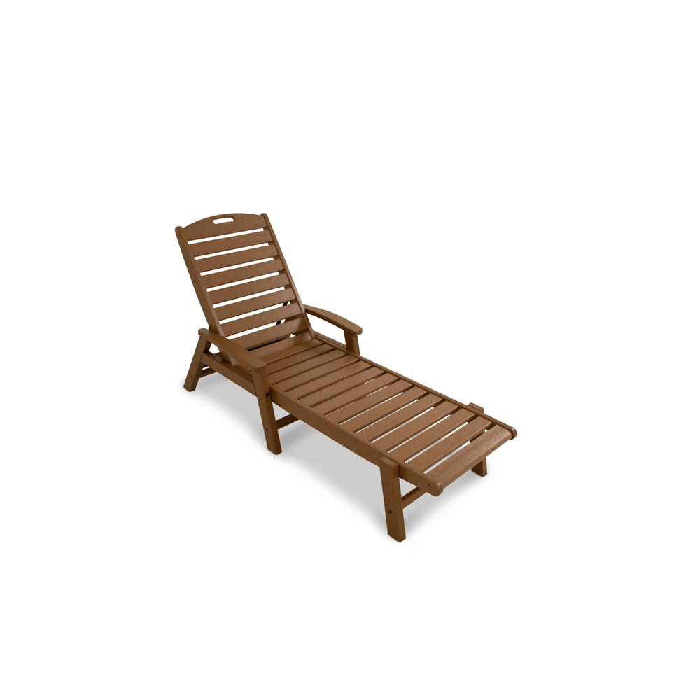 Trex outdoor furniture yacht club tree house patio for Chaise longue jardin brico depot