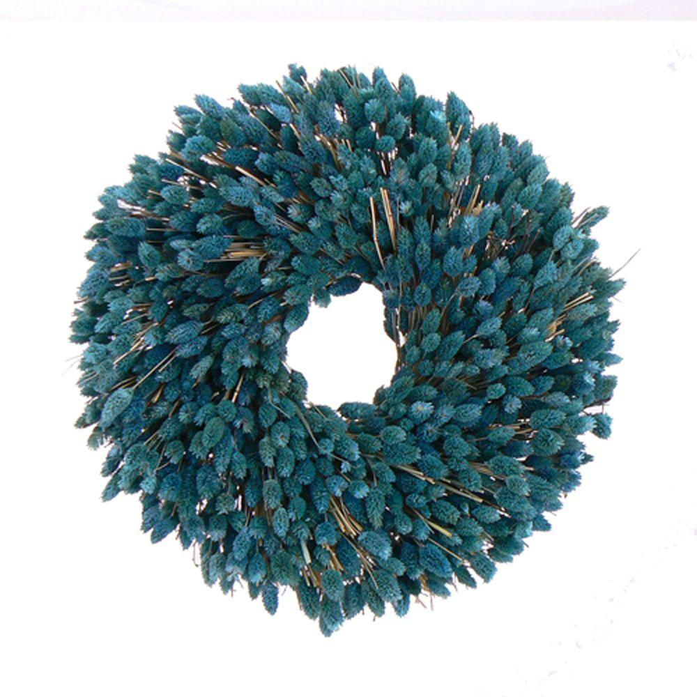The Christmas Tree Company Ocean Dreamin 18 in. Dried Floral Wreath-DISCONTINUED