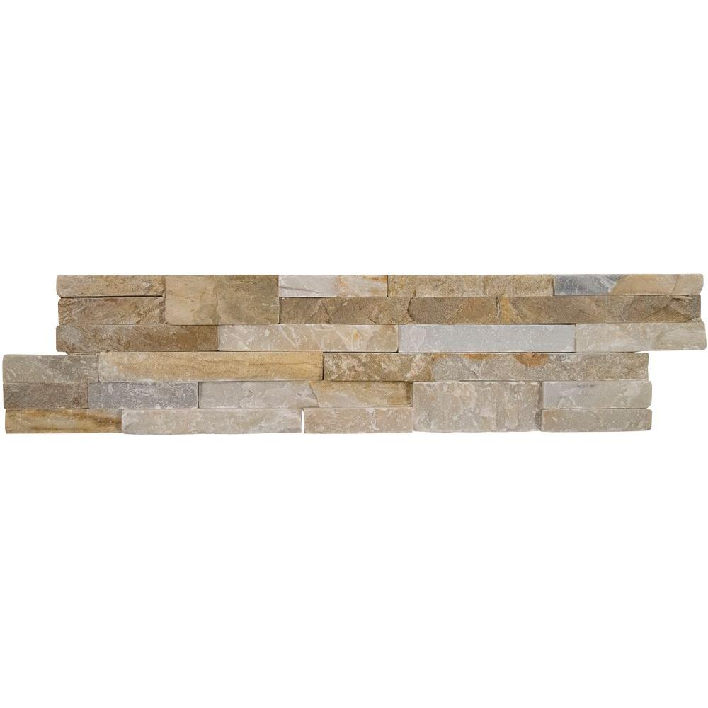fireplace natural stone tile tile the home depot