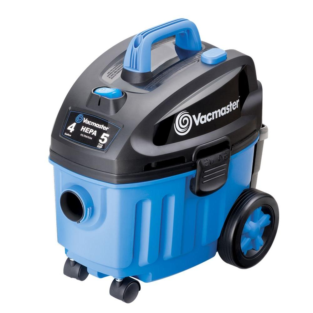 Vacmaster 4 Gal Household Wet Dry Vacuum Vf408 The Home