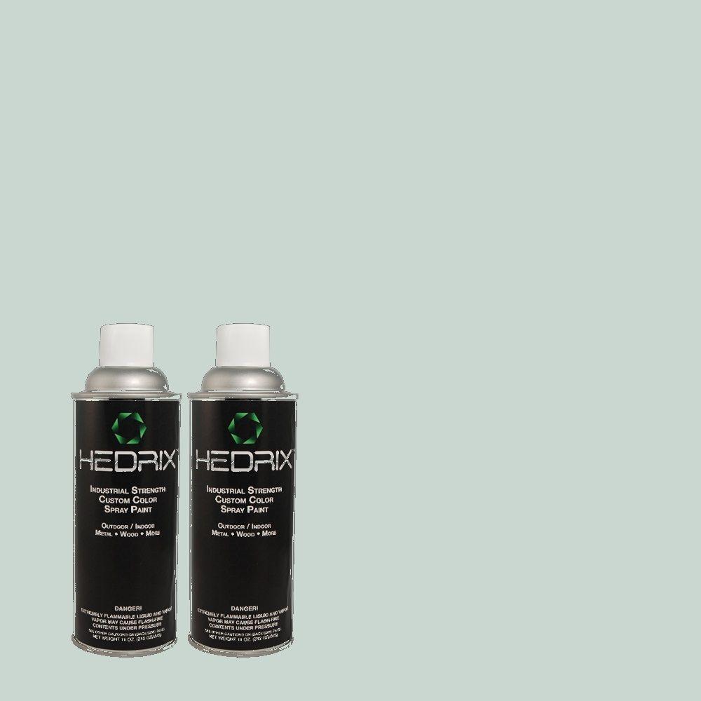 Hedrix 11 oz. Match of 500E-3 Rain Washed Gloss Custom Spray Paint (2-Pack)