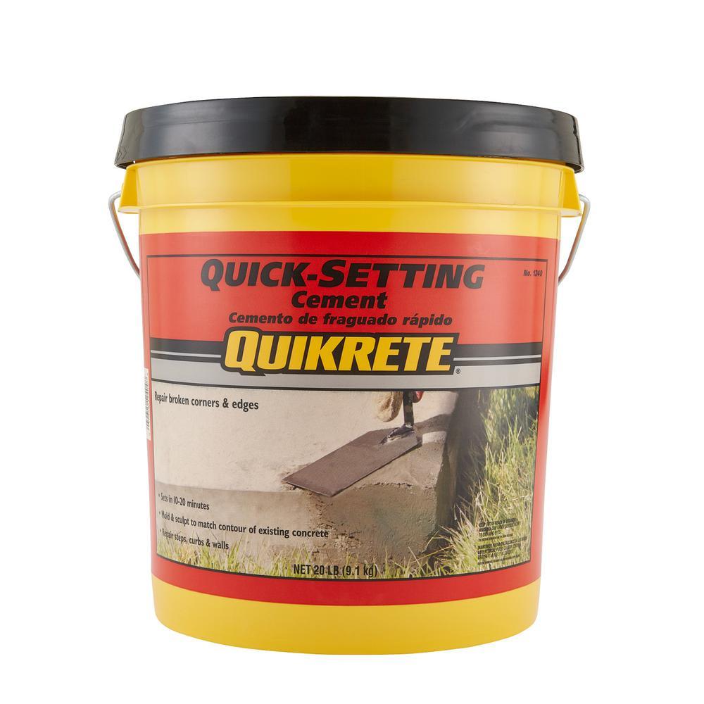 20 Lb Quick Setting Cement Concrete Mix