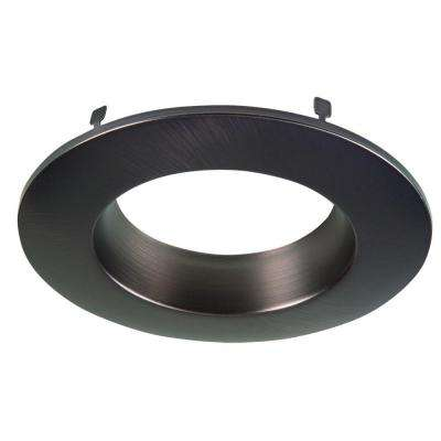 RL 5 in. and 6 in. Tuscan Bronze Recessed Lighting Retrofit Replaceable Trim Ring