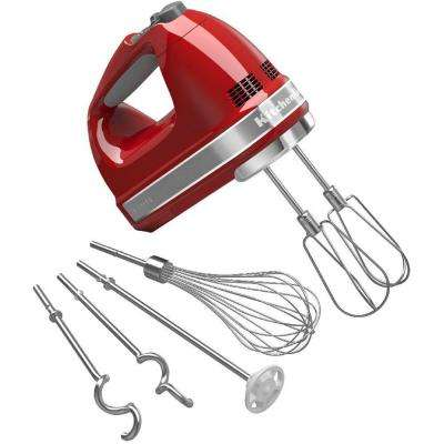 9-Speed Empire Red Hand Mixer