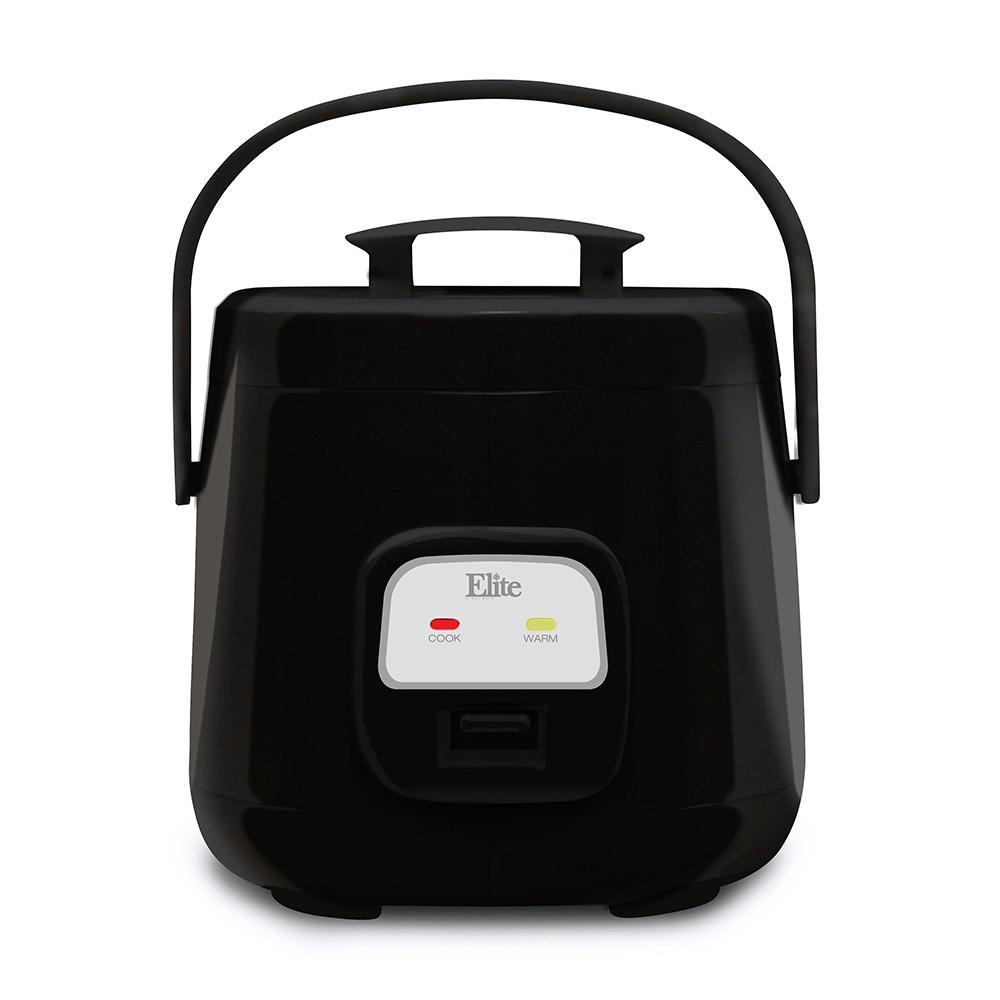 4 Cups Mini Rice Black Cooker