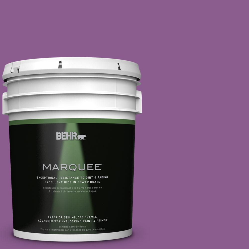 BEHR MARQUEE 5-gal. #P100-6 Chakra Semi-Gloss Enamel Exterior Paint