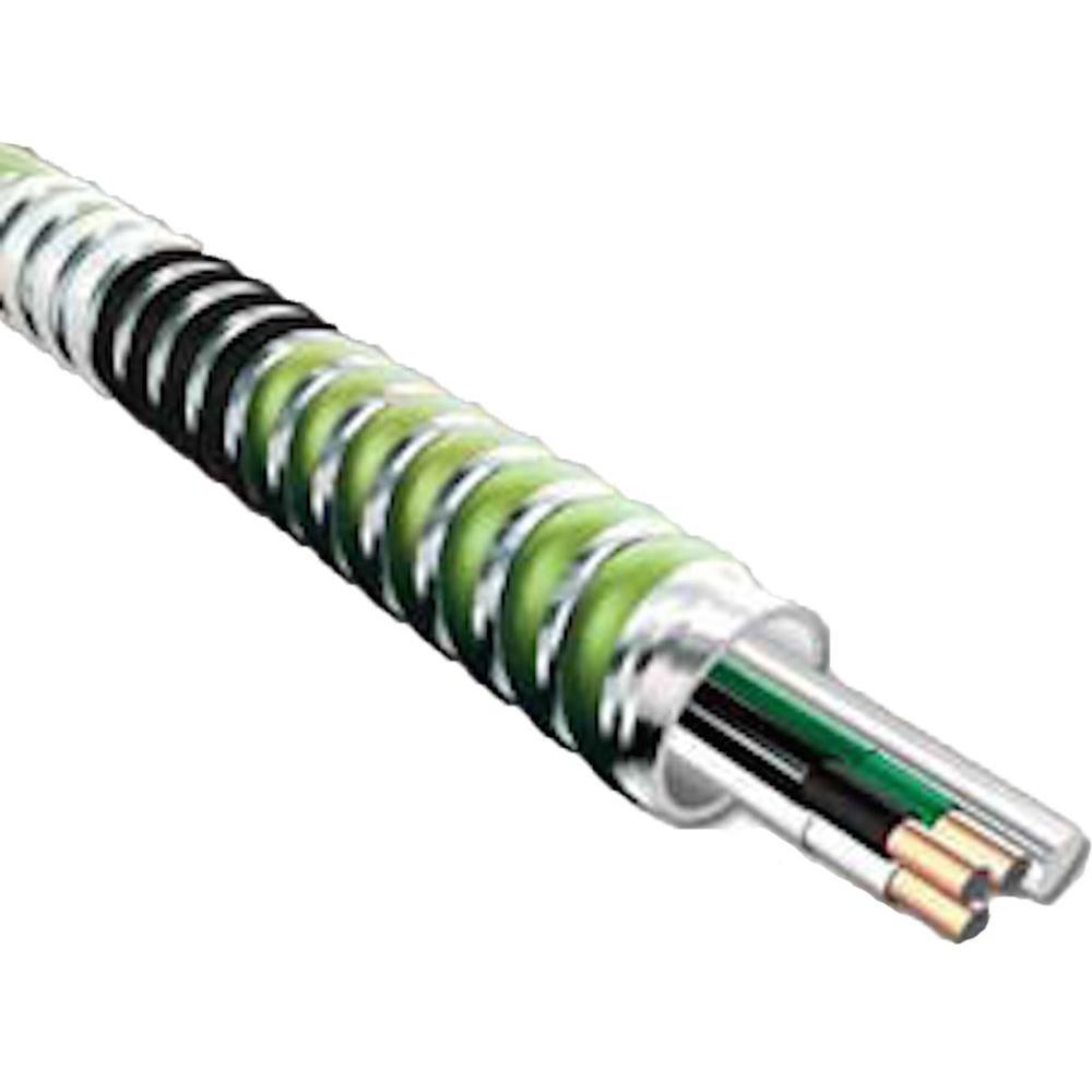 12/3 x 250 ft. Health Care Facility Aluminum MC Stat Cable