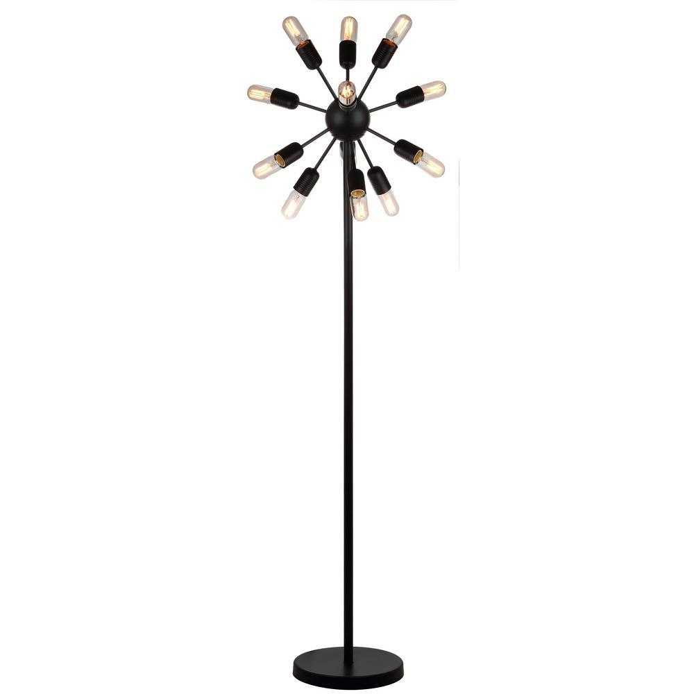 Urban 67 5 In Black Retro Floor Lamp