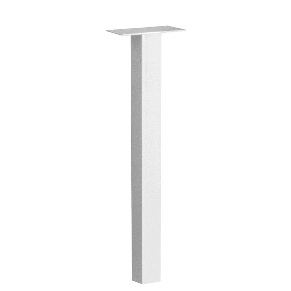 46-1/2 in. Standard In-Ground Post in White