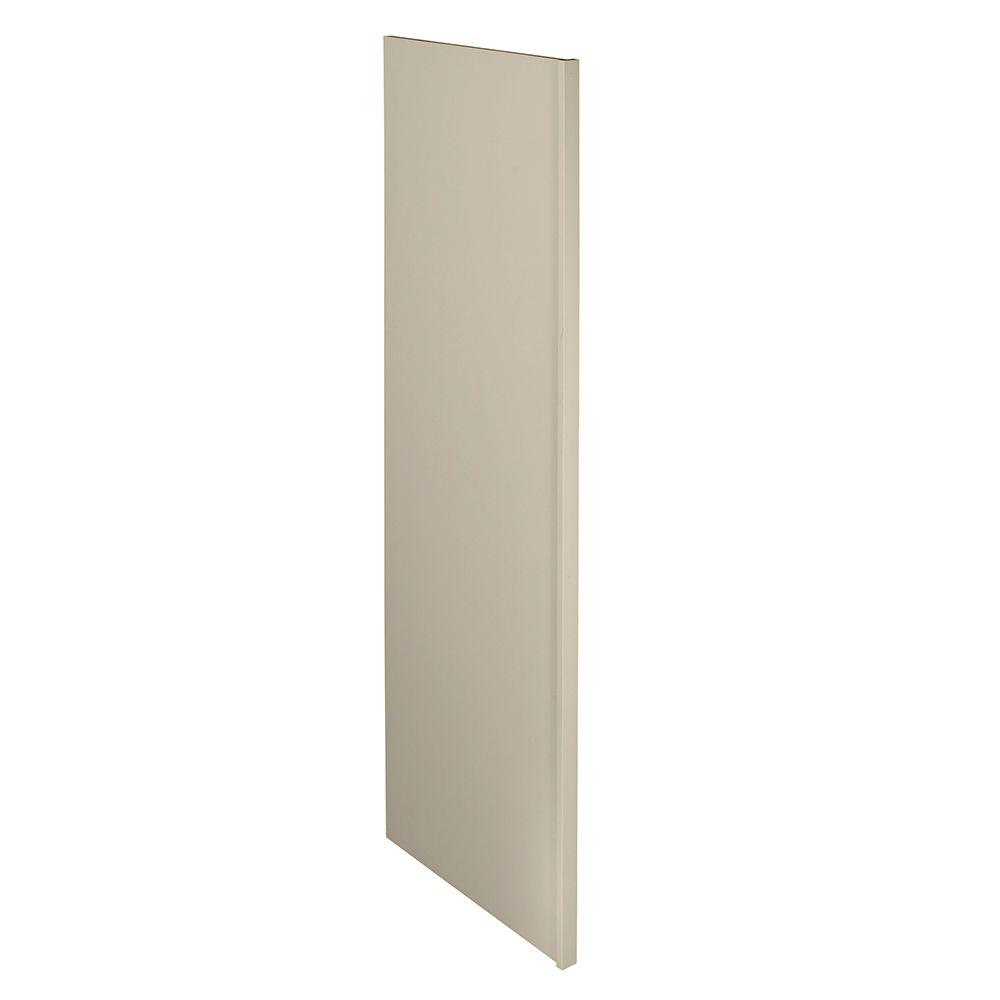 Home Decorators Collection Holden Assembled 1.5 x 84 x 24 in. Pantry/Utility Refrigerator Panel in Bronze Glaze