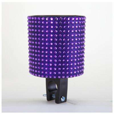 Bling Purple Bicycle Drink Holder