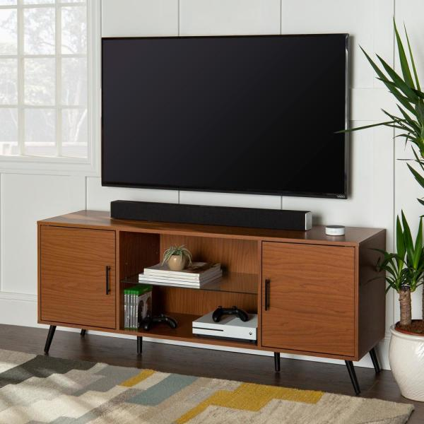 60 in. Acorn Composite TV Stand 69 in. with Doors