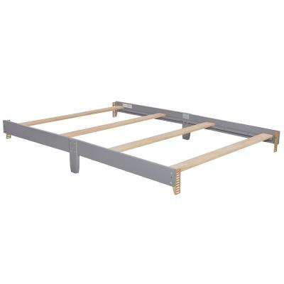 Universal Steel Grey Full Size Bed Rail (1-Pack)