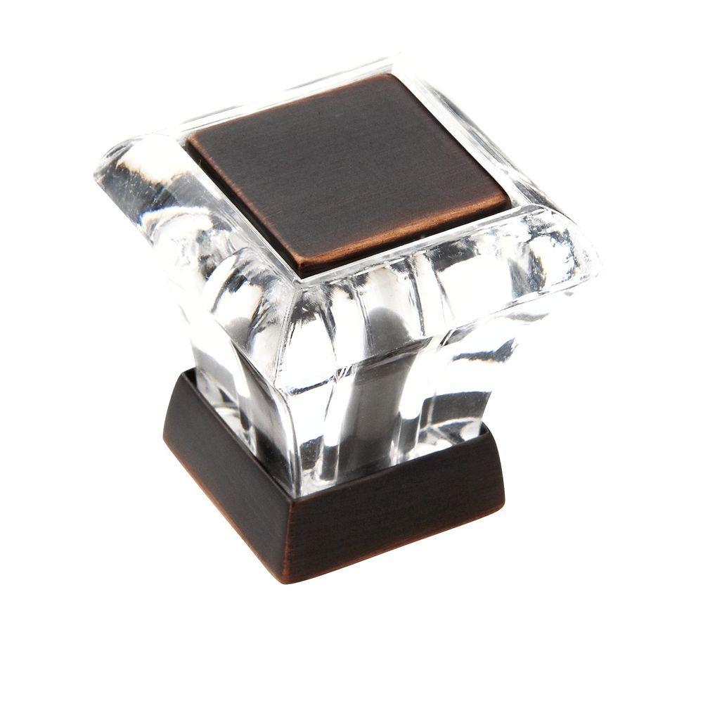 Abernathy 1-1/8 in. Oil-Rubbed Bronze Square Knob