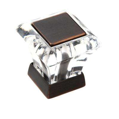 Abernathy 1-1/8 in. Oil-Rubbed Bronze Square Knob