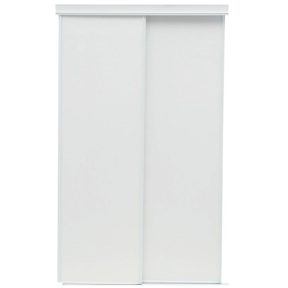 TRUporte 48 In. X 80 In. 100 Series Vinyl Interior Sliding Door