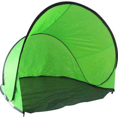 Pop Up Beach Relaxation Tent in Green