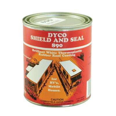 890 White Shield and Seal - Quart