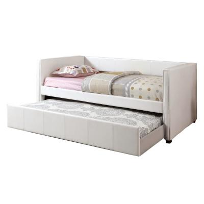 Cadiz Twin Daybed with Trundle In White