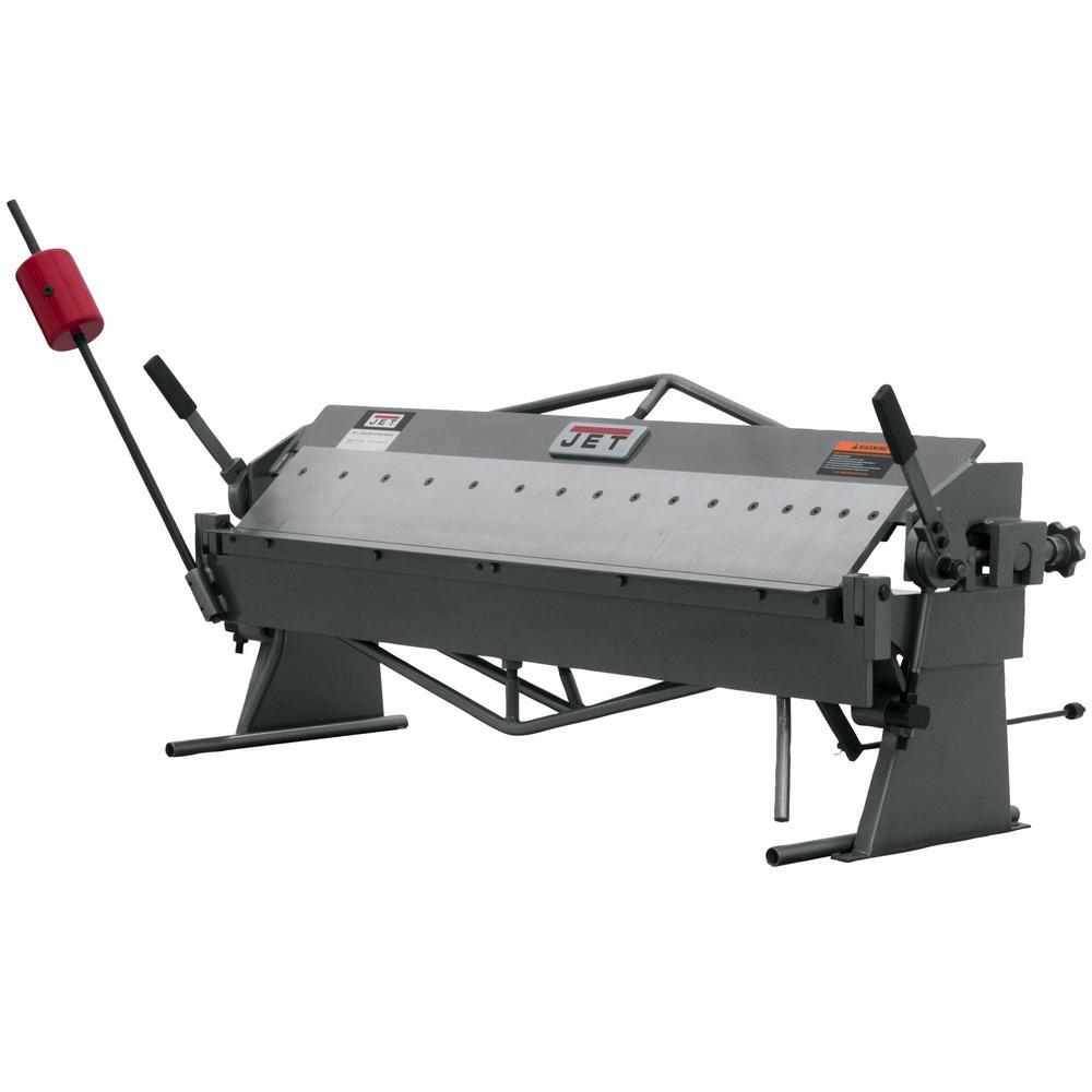 JET BPB-1650 50 ft. x 16 Gauge Bench Model Box and Pan Brake