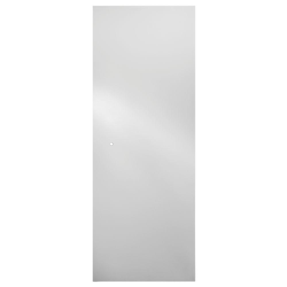 31 in. Semi-Frameless Pivot Shower Door Glass Panel in Clear
