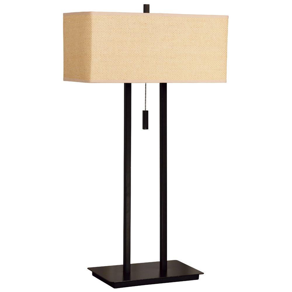 Emilio 29 in. Bronze Table Lamp