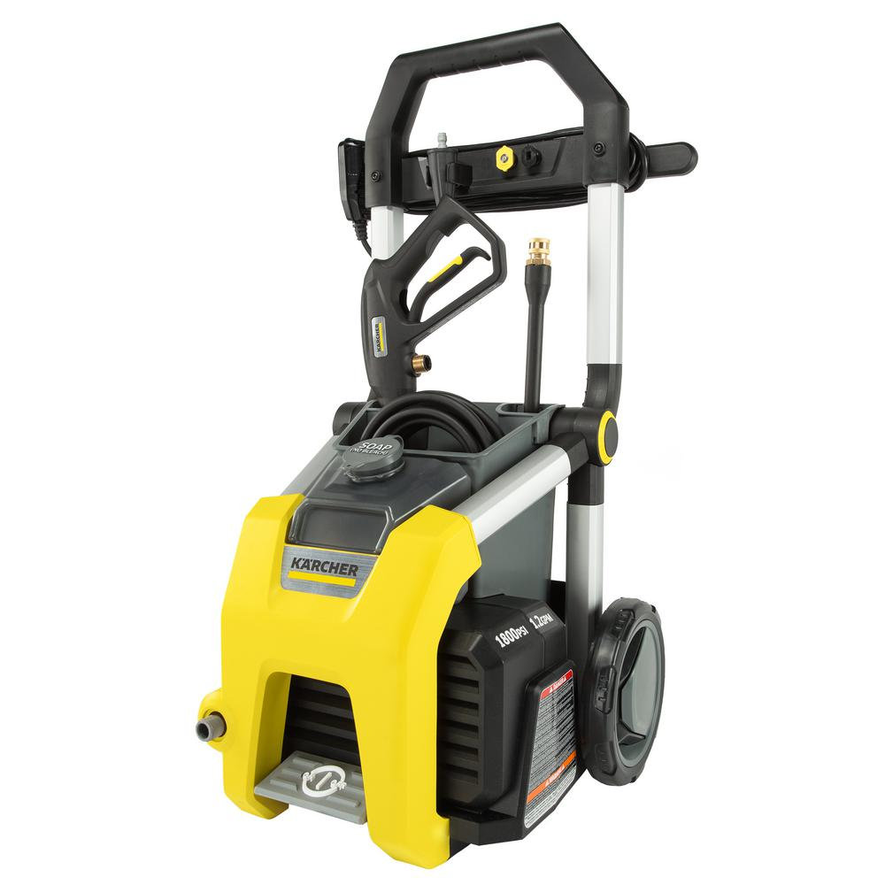 Karcher K1810 1800 PSI 1.2 GPM Electric Pressure Washer