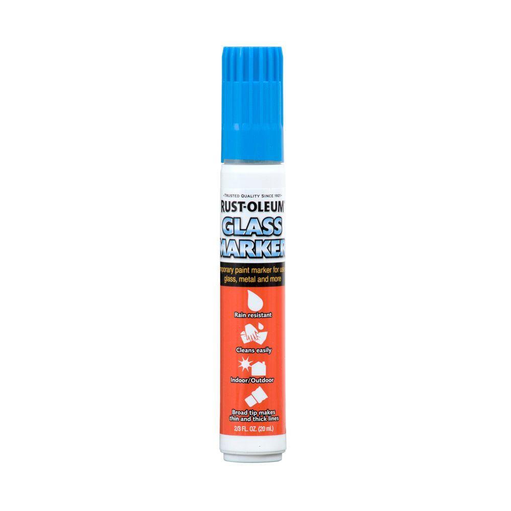 2/3 fl. oz. Blue Glass Marker (Case of 4)
