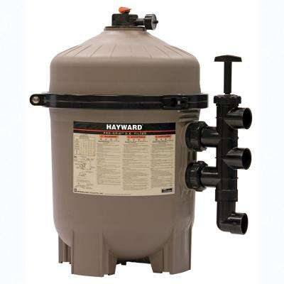 """Hayward 36 sq. ft. ProGrid D.E. Filter w/o Valve - 72 GPM, 1 ½"""" Plumbing. Requires 4 ½# D.E."""