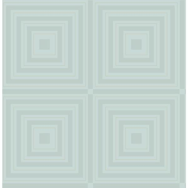 A-Street 56.4 sq. ft. Luminous Ice Geometric Wallpaper 2763-87318