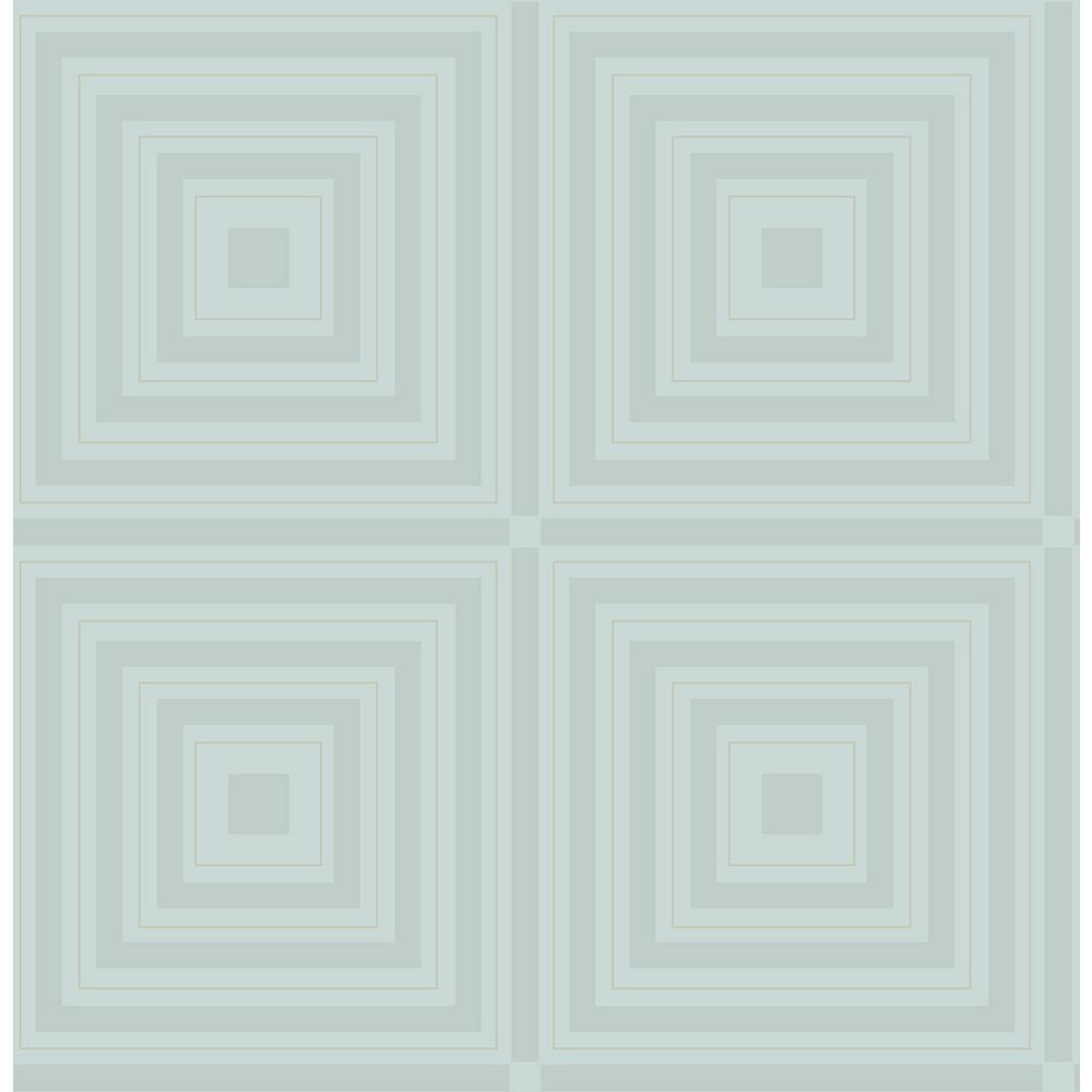 A-Street 8 in. x 10 in. Luminous Ice Geometric Wallpaper Sample