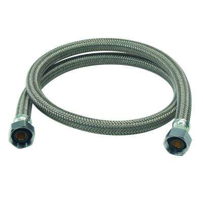 1/2 in. FIP x 1/2 in. FIP x 36 in. Braided Polymer Faucet Connector