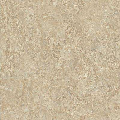 60 in. x 144 in. Laminate Sheet in Golden Travertine with HD Glaze Finish