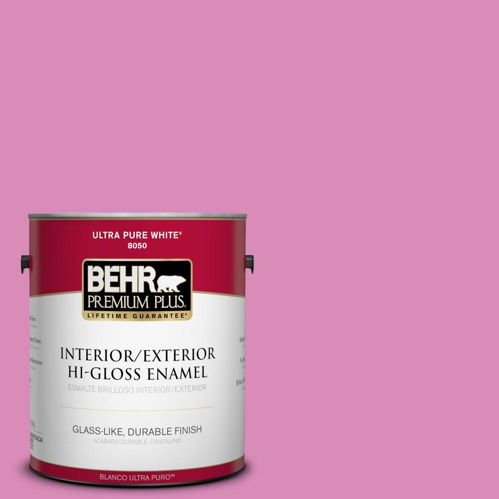1-gal. #P120-3 High Maintenance Hi-Gloss Enamel Interior/Exterior Paint