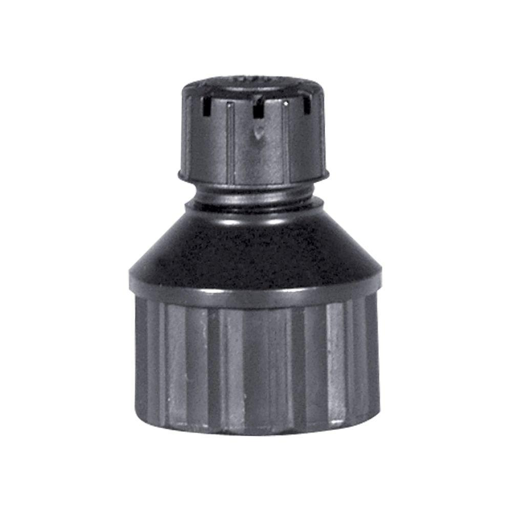 0-10 GPH Adjustable Dripper on 1/2 in. Pipe Thread Base (3-Pack)