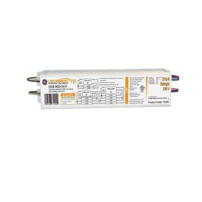 120-Volt Electronic Ballast for 3 ft. or 4 ft. 1-Lamp T12 or T10 Fixture