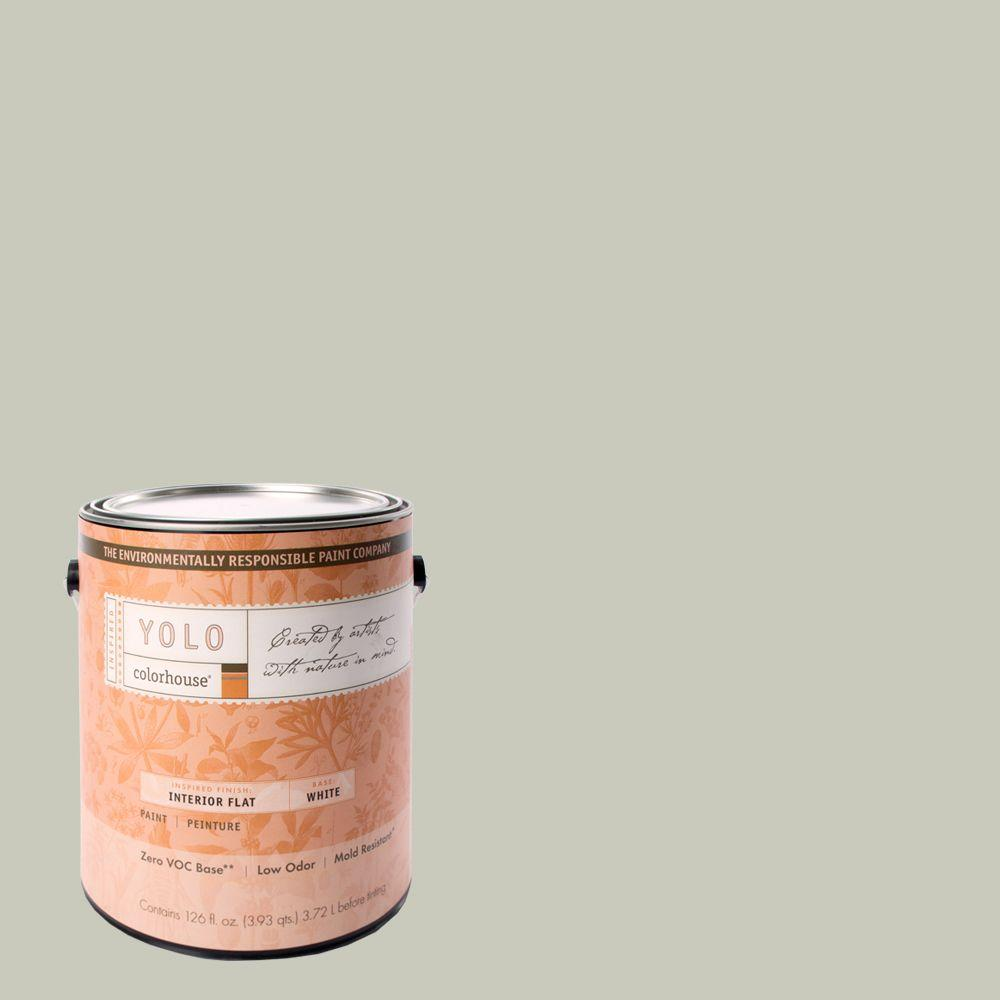 YOLO Colorhouse 1-gal. Stone .04 Flat Interior Paint-DISCONTINUED