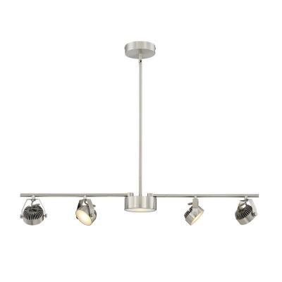 Hampton Bay Vortex 5 Light Satin Nickel Track Lighting Kit