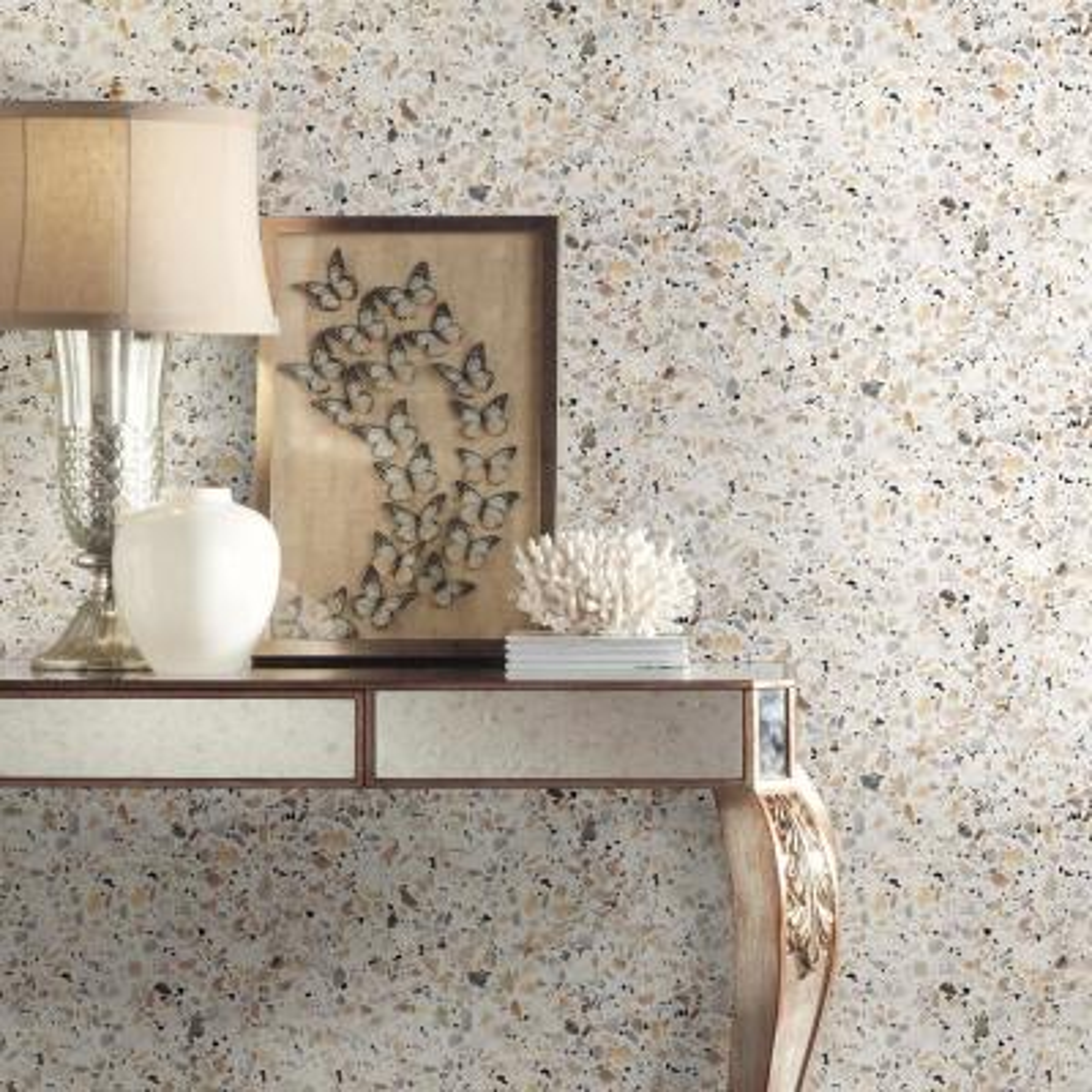 28.29 sq. ft. Terrazzo Multi Colored Peel and Stick Wallpaper