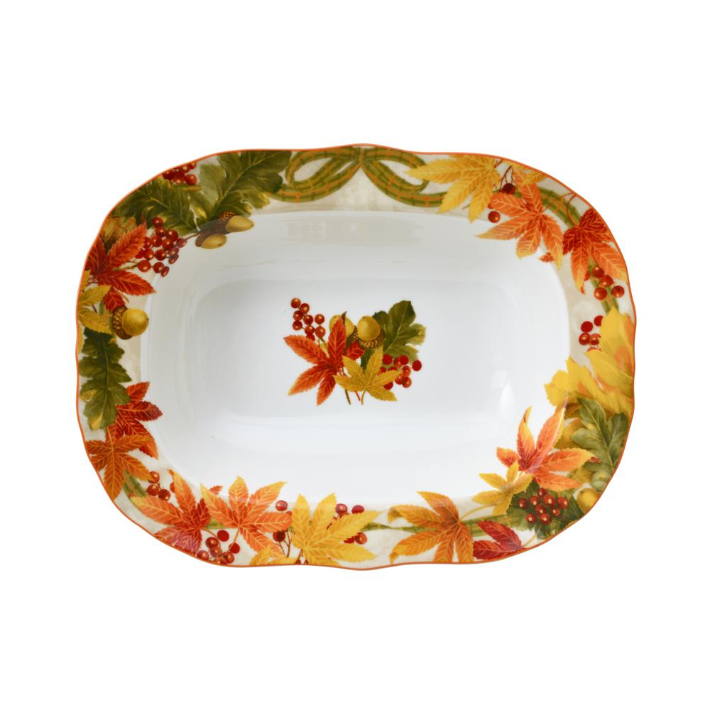 "Autumn Celebration 10"" Serving Bowl"