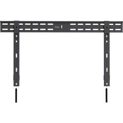 Universal Ultra Slim Low Profile Fixed Wall Mount for 37 in.-70 in. TVs, Black
