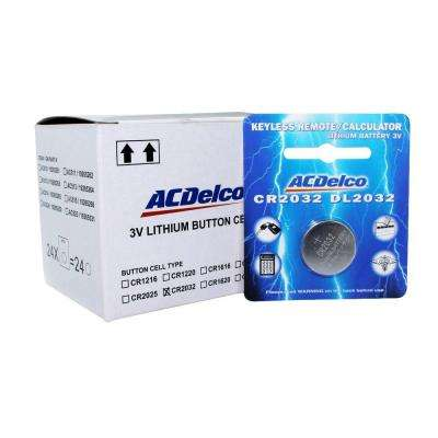 Lithium Button Cell CR2032 3-Volt Battery (24-Pack)