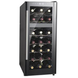 SPT 13-1/2 inch 21-Bottle Thermoelectric Wine Cooler with Dual Zone and Heating by SPT