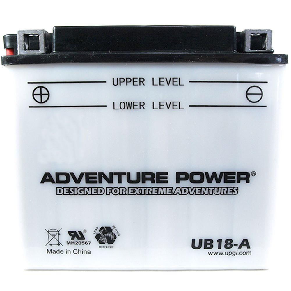 UPG Conventional Wet Pack 12- Volt 18 Ah Capacity G Terminal Battery