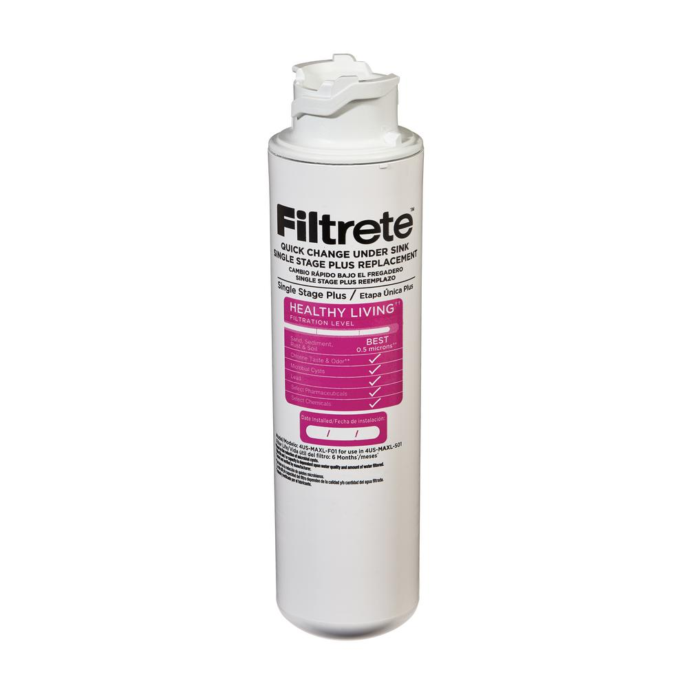 FILTRETE Single Stage Maximum Filtration High Performance...