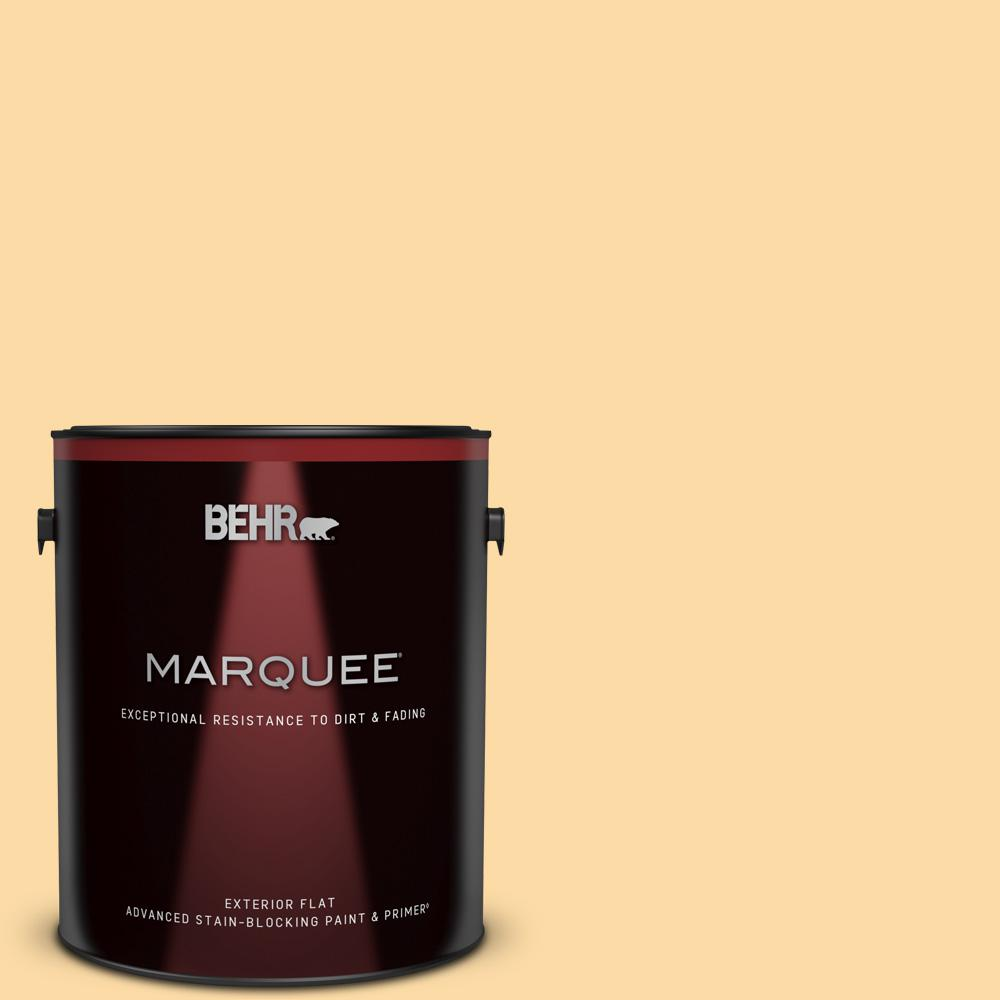Behr Marquee 1 Gal M290 3 Corn Stalk Flat Exterior Paint Primer 445001 The Home Depot