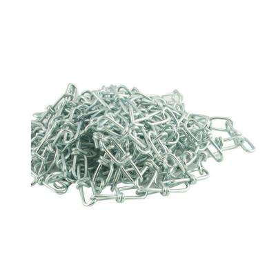 #3 x 15 ft. Zinc Plated Steel Double Loop Chain