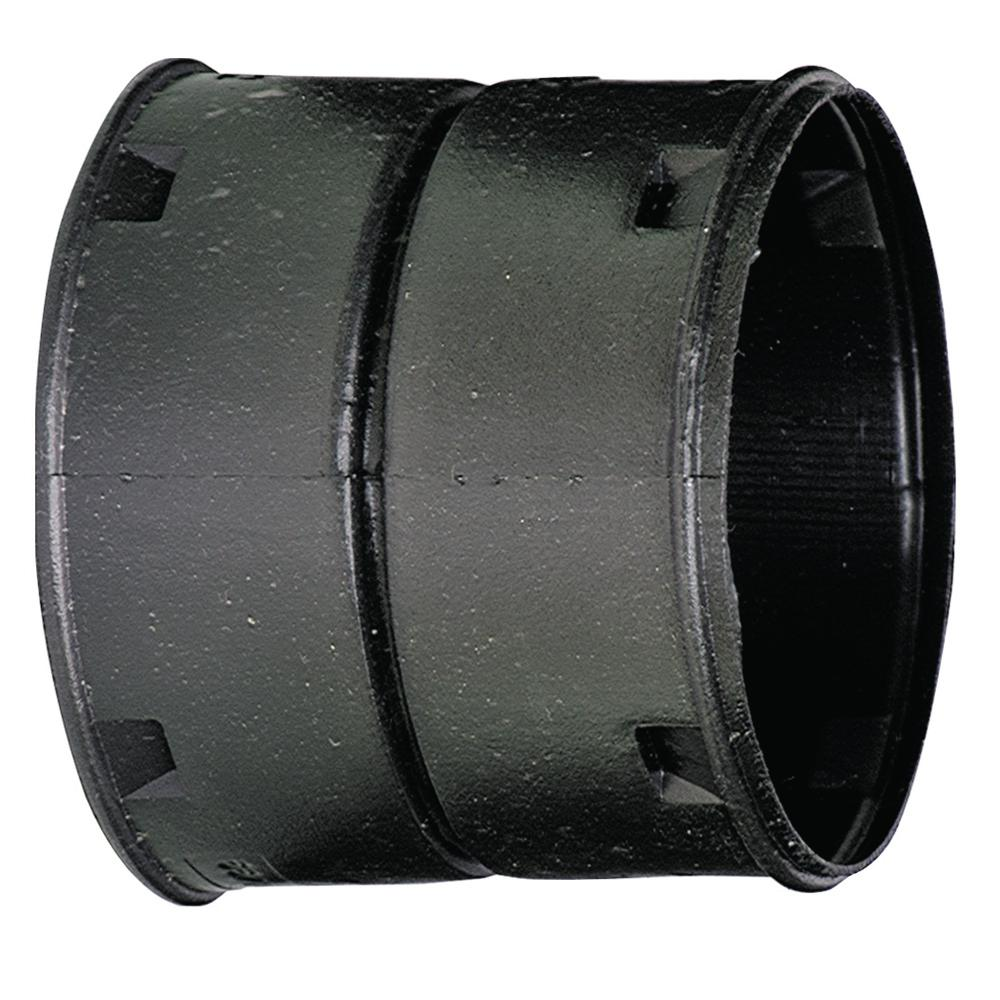 Advanced Drainage Systems 6 in. HDPE Slip External Snap Coupler