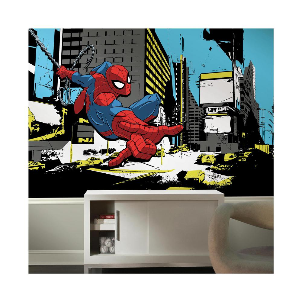 RoomMates 72 In. X 126 In. Spider-Man Classic XL Chair